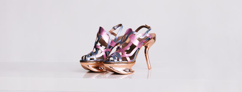 originální boty na vysokém podpatku